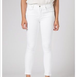 🆕James Jeans Claire Pure White cropped  jean